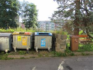Prachatice vyveze bioodpad v zime